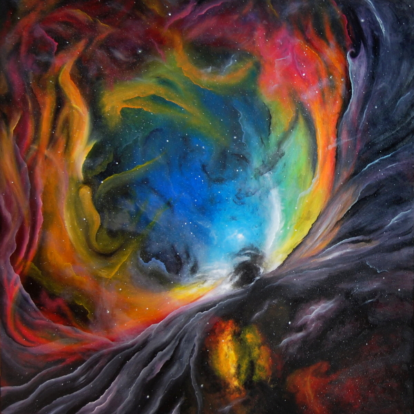 Painting of the Orion Nebula