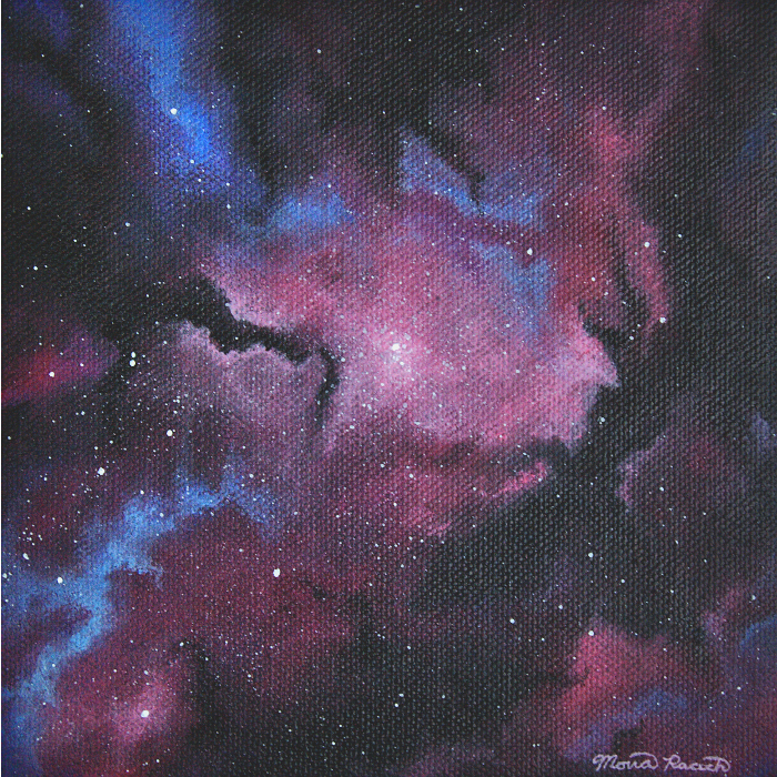 Painting of a nebula