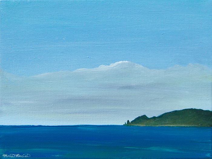 Painting of Pyramid Point