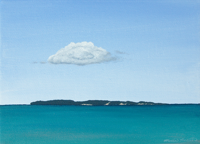 Painting of the Manitou Islands