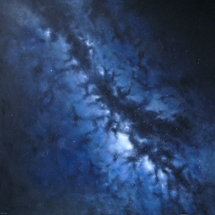 Painting of the Milky Way Galaxy